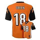 A.J. Green Cincinnati Bengals #18 Orange Youth Mid Tier Alternate Jersey