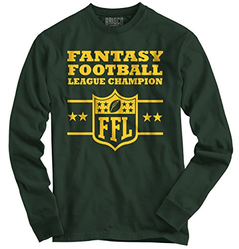Fantasy Football Champion Sporting Goods Cool Graphic Sports Long Sleeve Shirt