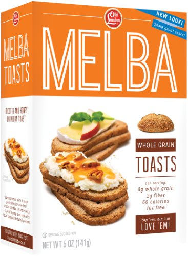Old London, Melba Toasts, Whole Grain, 5 Ounce (Pack of -