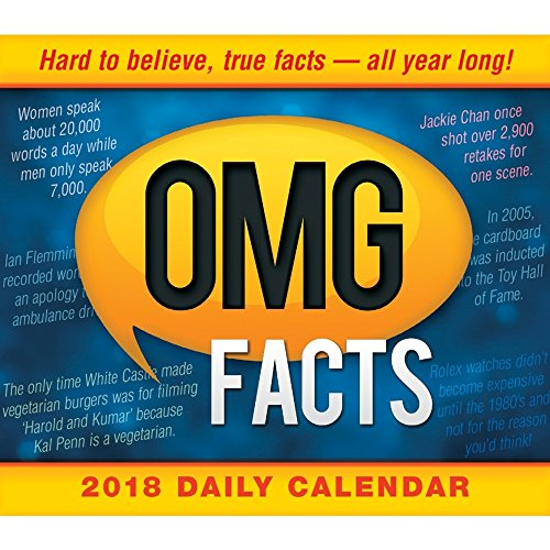 2010 Daily Desk (OMG Facts 2018 Daily Desk Boxed Calendar)