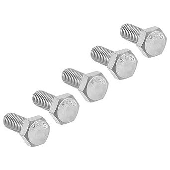 uxcell/® M8x16mm Stainless Steel Metric Hex Head Cap Screws Bolts DIN 912 10pcs