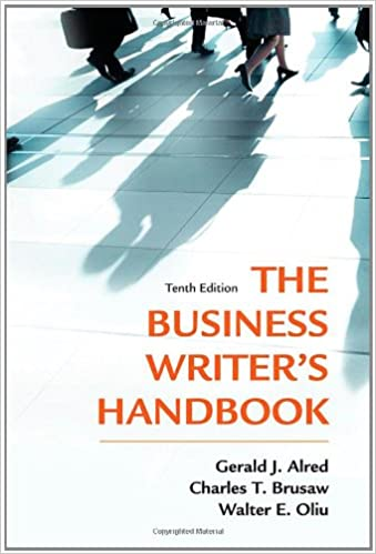 The business writers handbook tenth edition business writers the business writers handbook tenth edition business writers handbook hardcover 10th edition fandeluxe Images