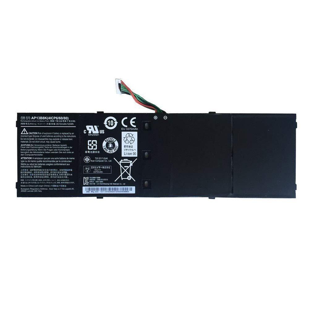 Bateria Ap13b8k Ap13b3k Para Acer Aspire V5 V5-572p V5-572g Para 4icp6/60/80 Ap13b8k Ap13b3k 15.2v 53wh 3510mah