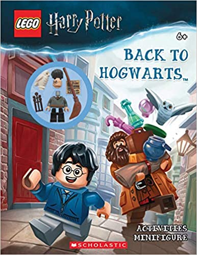 Back To Hogwarts Lego Harry Potter Activity Book With