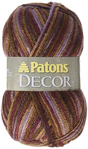 Patons  Decor Yarn - (4) Medium Worsted Gauge  - 3.5oz -  Tapestry  -   For Crochet, Knitting & Crafting by Patons (Image #1)