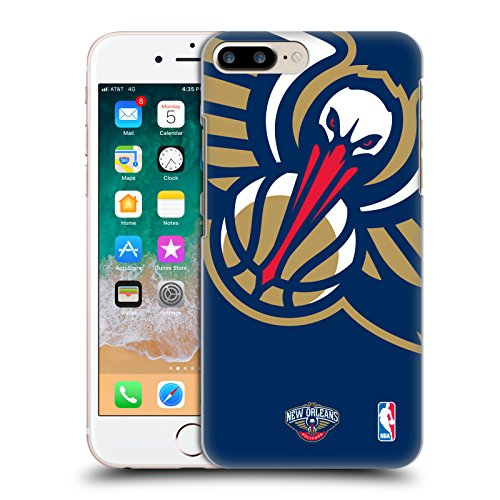 Official NBA Oversized Icon New Orleans Pelicans Hard Back Case for Apple iPhone 7 Plus / 8 - Orleans Place Of New Port