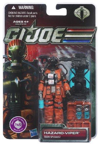 G.I. Joe 30th Anniversary 3 3/4 Inch Action Figure Hazard Viper Toxin Specialist ()