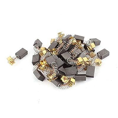 DealMux 15paires perceuse électrique du moteur balais de carbone de pièces de remplacement 11mmx8mmx5mm