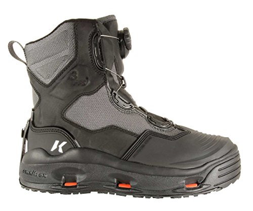 Korkers DarkHorse Wading Boots Mens 8 Felt & Kling-On - http://coolthings.us
