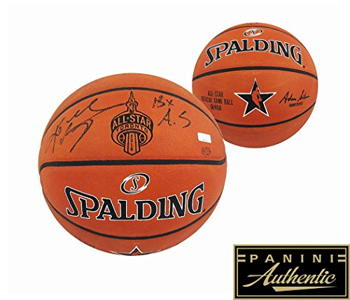 Kobe Bryant Autographed/Signed Spalding Authentic 2016 All-Star NBA Basketball With