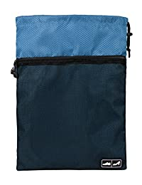 Bags-mart Travel Shoe Bags with Drawstring for Carrying Light Blue