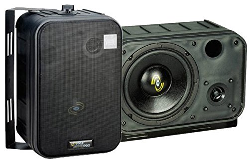 Pyle Home PDMN58 6.5-Inch 2-Way Bass Reflex Mini-Monitor System 300 Watt Studio Monitor