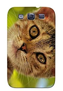 Storydnrmue Durable Animal Cat Cute Kitten Back Case/ Cover For Galaxy S3 For Christmas