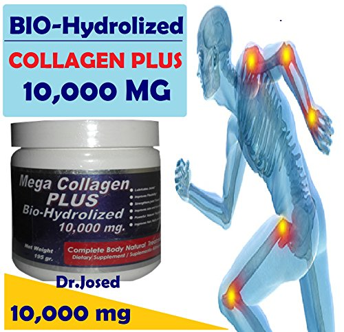 3 BIO-HYDROLIZED COLLAGEN 10,000 mg in (2) teaspoons daily. For Sale