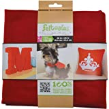 New Image Group Feltables Craft Pack Felt, 36 x 36-Inch, Red