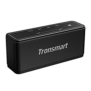 Portable Bluetooth Speakers, Tronsmart Mega 40W Bluetooth 4.2 Wireless Speakers with 15-Hour Playtime, TWS, Dual-Driver Portable Wireless Speaker with Built-in Mic, NFC, Deep Bass, LED Backlight