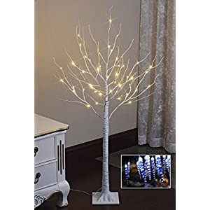 Lightshare LED Birch Tree,Warm White 7