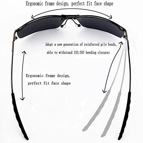Vélo D Lunettes E GUOHONG De Conducteur Lunettes Casual Soleil Miroir De Classique Cadre Miroir Miroir OneSize Marée Grand Mode Mâles à Irrégulier Soleil Polarisées Grand Cadre qqBEw4gC