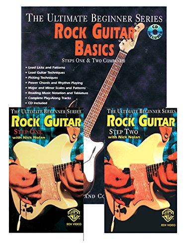 Ultimate Beginner Rock Guitar Basics Mega Pak: Book, CD & 2 Videos (The Ultimate Beginner Series) (Ultimate Beginner Series Rock)