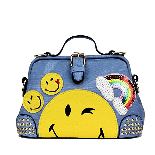 Emoji Purse and Handbags for Teens Cross Body Bags