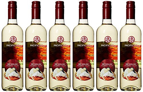 Pacific Rim Dry Riesling (2015 Pacific Rim Columbia Valley Dry Riesling Wine 6 Pack, 6 x 750)
