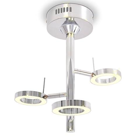 Lámpara de Techo Cromado,Lámparas Colgantes Lámparas ...