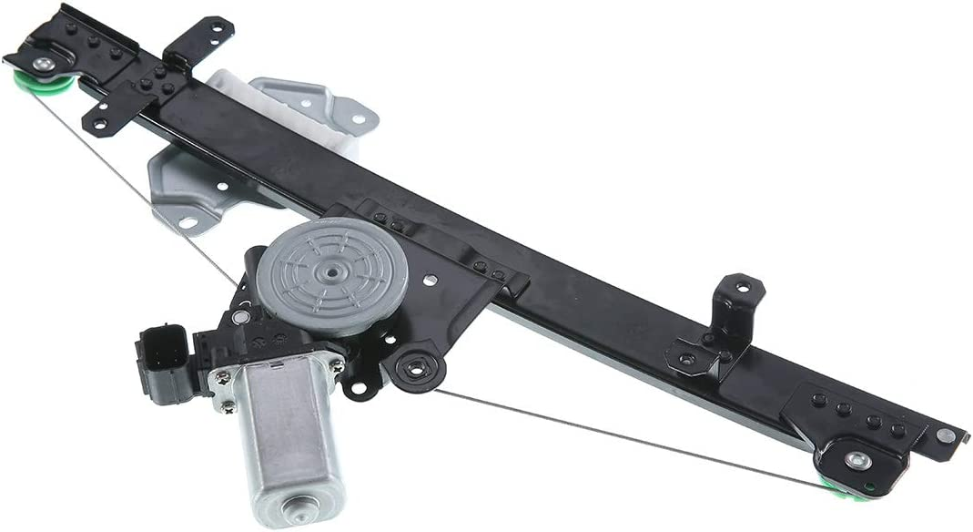 A-Premium Power Window Regulator with Motor for Nissan Sentra 2013-2019 Front Left with Express Up Or Down