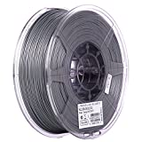eSUN 1.75mm Silver PLA PRO (PLA+) 3D Printer Filament 1KG Spool (2.2lbs), Silver