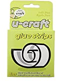 U-Craft 36 Double Sided Permanent Glue Adhesive Strips Line Tape 201079 4Mm X 8M Clear