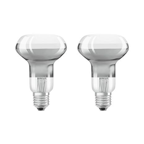 Osram 4058075817630 a +, LED Star Classic R63/LED de reflector bombilla con casquillo