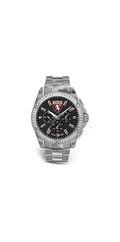 Herrenuhr Offizielle FC Torino Stahl Chronograph t0412un1
