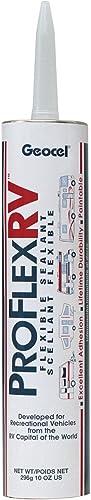 RV Trailer Camper Flexible Sealant [Geocel] Picture