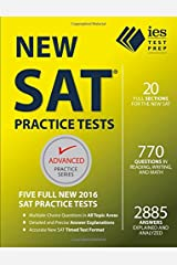 New SAT Practice Tests (Advanced Practice Series) Paperback