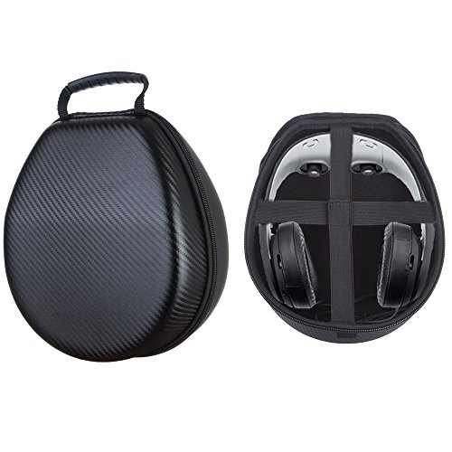 Esimen Hard Case for Avegant Glyph AG101 Video Headset Founders Edition Power VR Glassess 3D Mobile Theater Headphone Case Carry Bag Protective Box (Black)