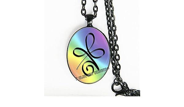 Amazon Zibu Angel Symbol For Health Necklace Everything Else