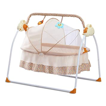 Super Amazon Com Rocking Chair Electric Baby Cradle Remote Squirreltailoven Fun Painted Chair Ideas Images Squirreltailovenorg