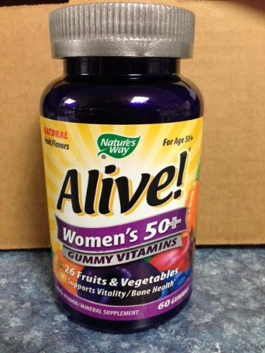 Nature s Way Alive Women s 50 Gummy Vitamins 60 ct pack of 4