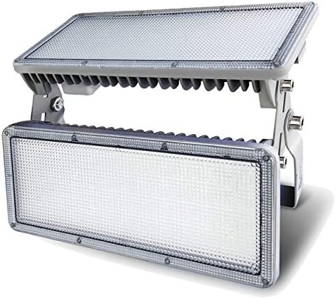 100W LED Flood Light Outdoor, Hugging LED Flood Lights, IP67 Waterproof, 6500K Cold White, 10000lm Super Bright Outdoor Flood Light for Garage, Porch, Garden,Warehouse 100watt