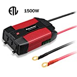 Excelvan 1500W Power Inverter 12V DC to 110V AC Converter (Small Image)