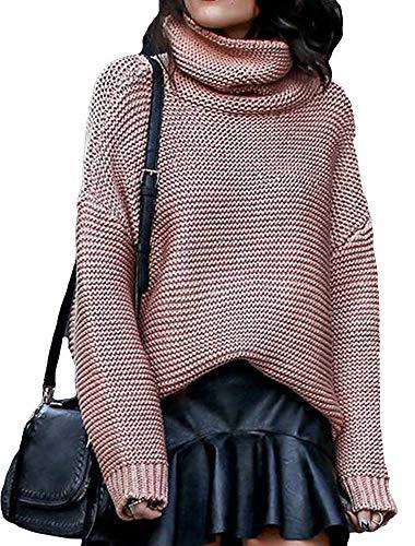 Collo Abbigliamento A Rosa Donna E Nutexrol Vari Maglione Pullover pIAp6