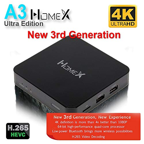 2019 Newest A3 HomeX TV Box HTV A2 Upgrade Chinese/HK/TW Live TV 4K Ultra HD Better and Faster Version