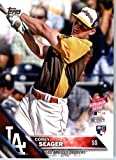 2016 Topps Update #US205 Corey Seager Los Angeles Dodgers Home Run Derby Baseball Card-MINT