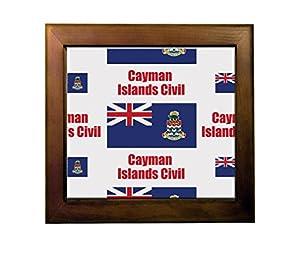 durable modeling Cayman Islands Civil Country Flag Ceramic Tile Backsplash Accent Mural