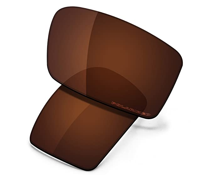 f0e81d6d0ad Saucer Premium Replacement Lenses for Oakley Gascan Sunglasses High Defense  - Amber Brown Polarized