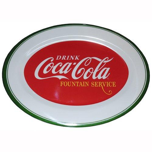 Gibson Drink Coca-Cola Fountain Service Melacore Platter