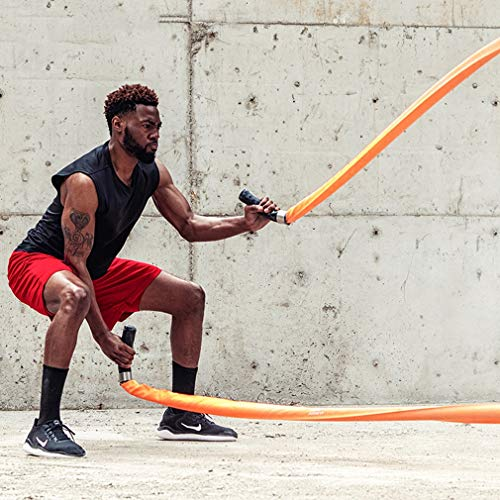 Battle Rope 9M /15M Sports Training Battling Battle Power Rope Bootcamp Exercise Fitness Rope Fitness Training Rope (Size : 15m) by BAI-Fine (Image #1)