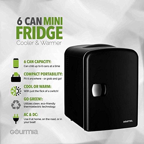 Gourmia GMF600 Thermoelectric Mini Fridge image 2