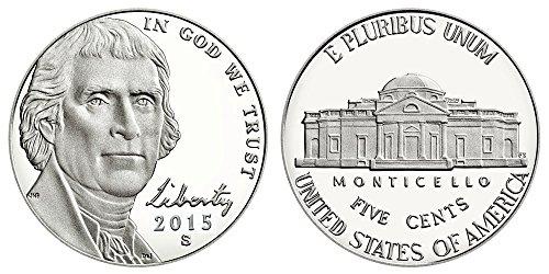 2015 S Proof Jefferson Nickel PF1