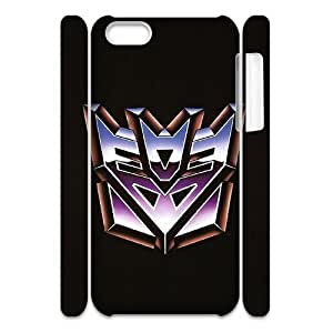 I-Cu-Le Customized 3D case Transformers for iPhone 5C