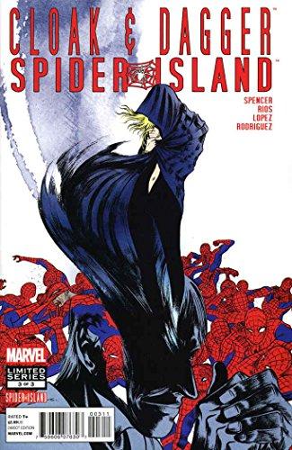 Spider-Island: Cloak & Dagger #3 VF/NM ; Marvel comic book